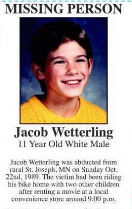 Jacob Wetterling Cold Case: Confession But No Charges for Killer Pedo