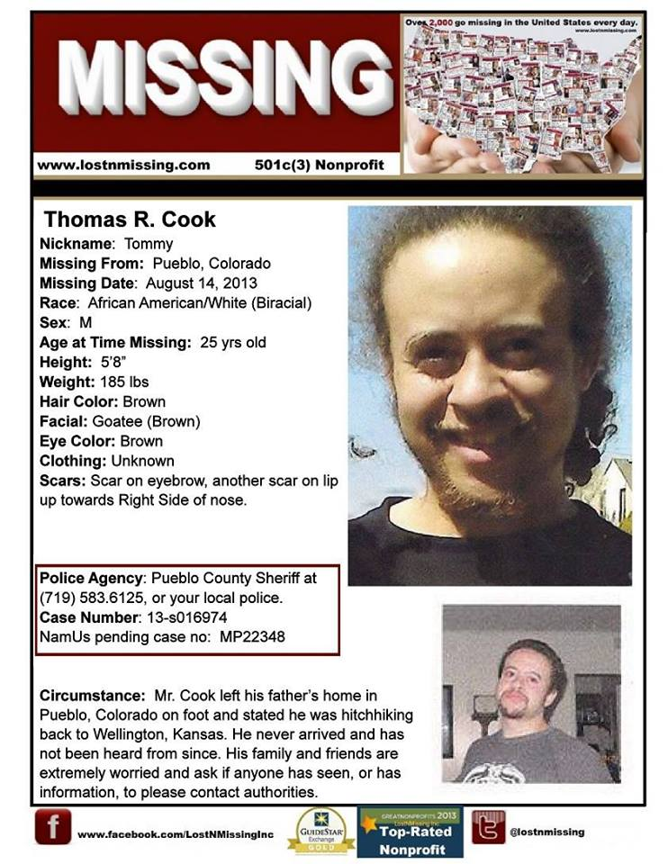 Current Missing People – Missing People Posters