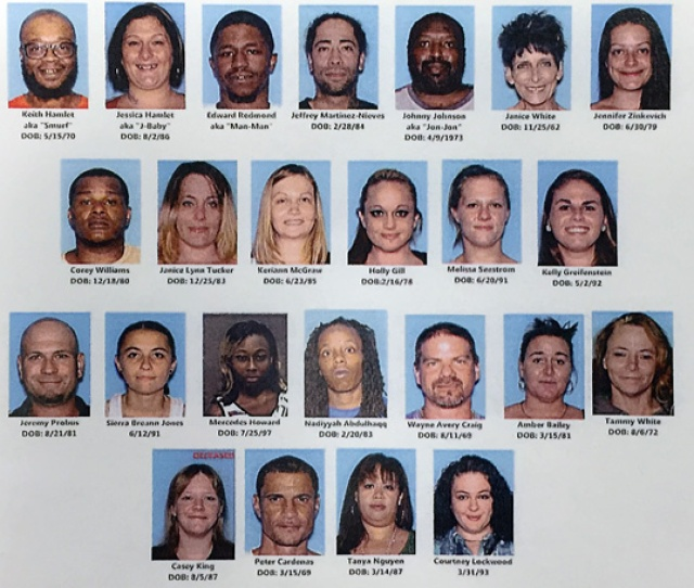 Police Have Been Working On A Case For Two Years They Called Operation Pop A Smurf That Resulted In The Arrest Of 21 Individuals That Were Working